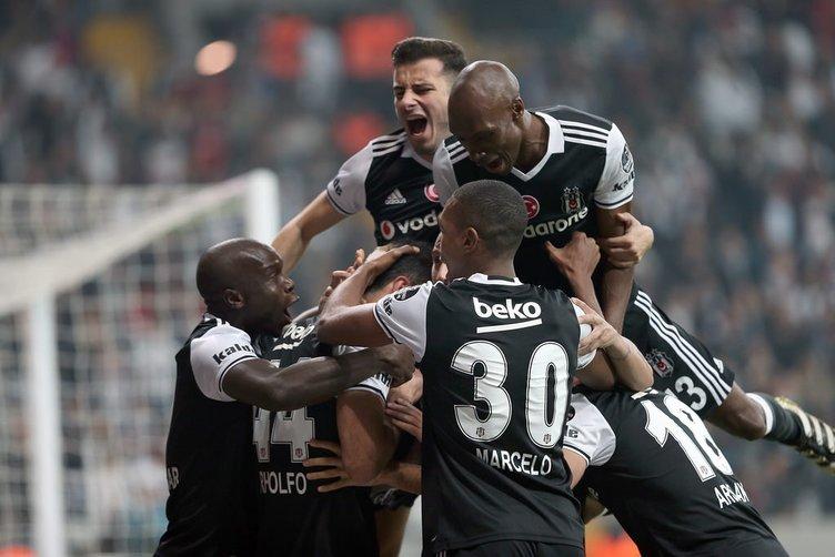 Beşiktaş-Trabzonspor maçından kareler