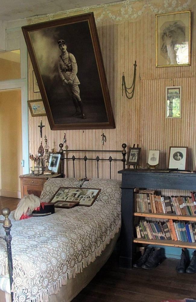 100 yıldır değişmeyen oda