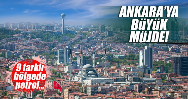 TPAO Ankara'da petrol arayacak!