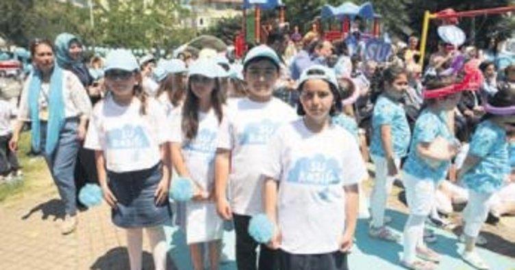 Beşiktaşlı minik 'Su kâşifleri' iş başında