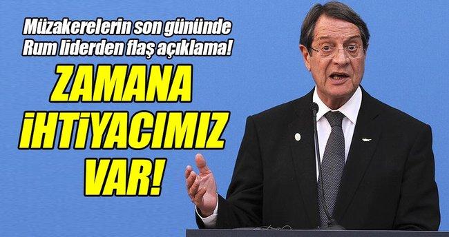 Kıbrıs görüşmelerinde Rumlardan flaş açıklama!