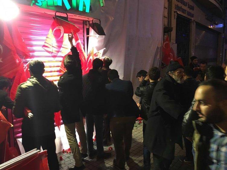 Vatandaşlar terörü protesto etti