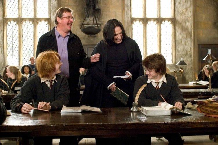 Alan Rickman ve Harry Potter