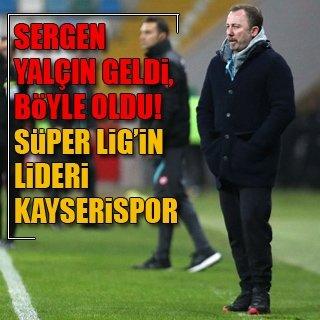 İkinci yarının lideri Kayserispor