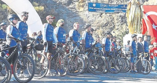 Bisikletler 'UNESCO' için yola çıktı