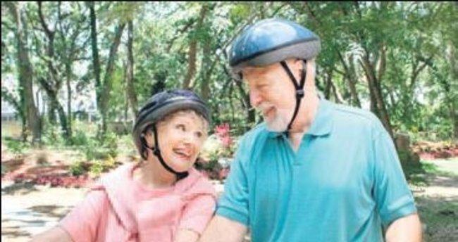Bisiklete binmek kalbe iyi geliyor