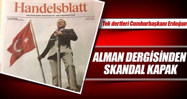 Alman dergisinden alçak kapak
