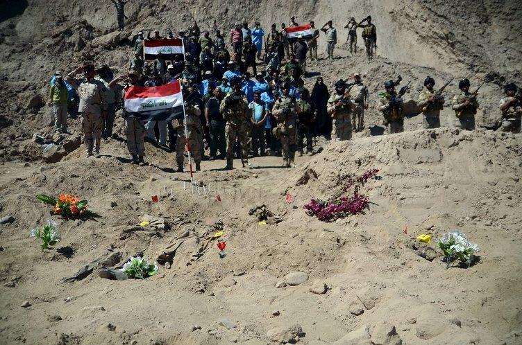 IŞİD çekildi ölüm kaldı