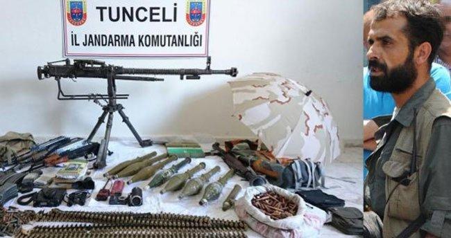 PKK'nın 'sözde' bölge sorumlusu öldürüldü
