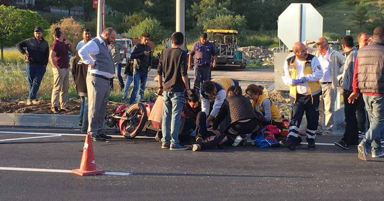 Sulama tankeriyle çarpışan motosikletin sürücüsü öldü