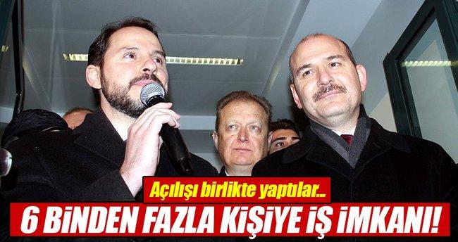 Enerji ve Tabii Kaynaklar Bakanı Albayrak: 6 binden fazla kişiye iş imkanı...