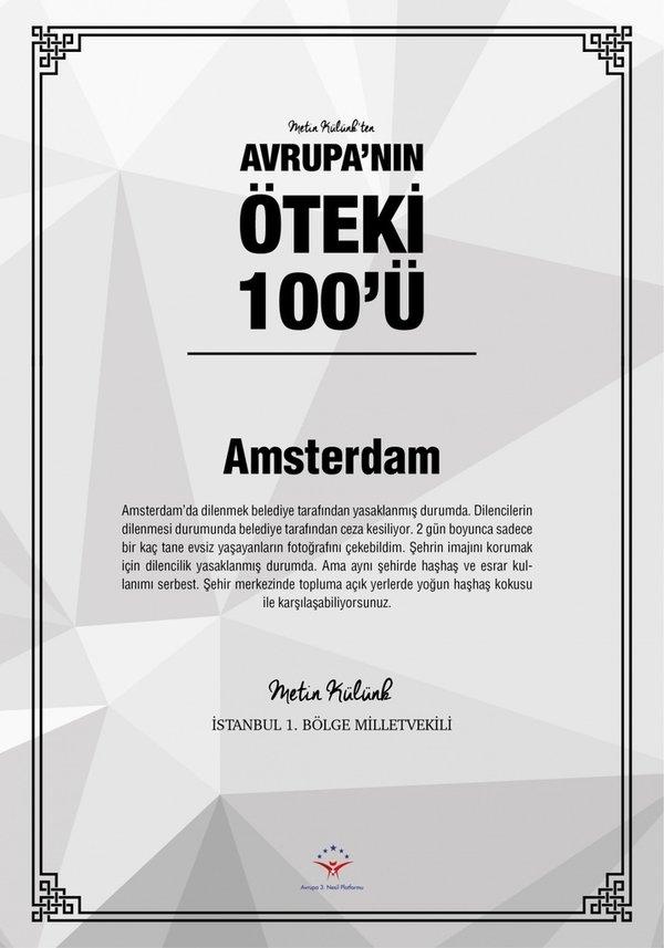 Avrupa'nın öteki 100'ü