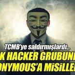 Türk Hacker Grubu Anonymous'u hedef aldı!