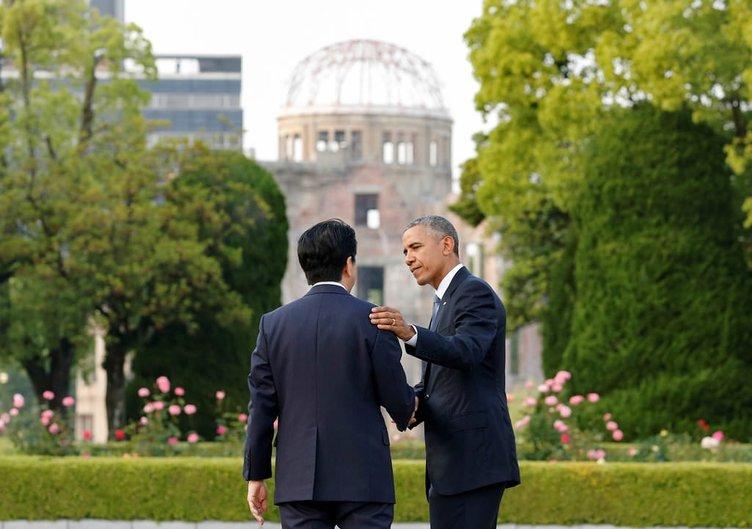 Obama Hiroşima'da özür dilemedi