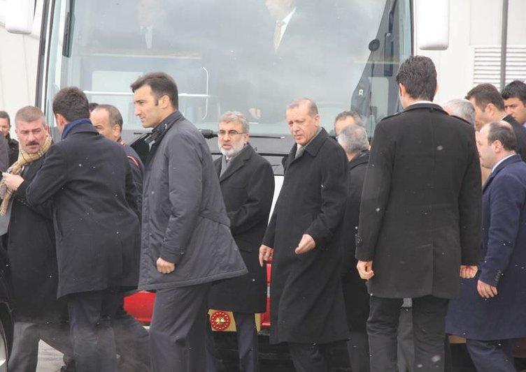 Erdoğan ve iki Cumhurbaşkanı birlikte açtı