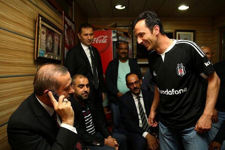 Erdoğan'dan minibüs durağına sürpriz ziyaret