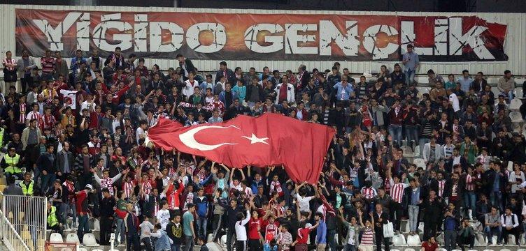 Sivasspor - Galatasaaray Ziraat Türkiye Kupası maçından kareler