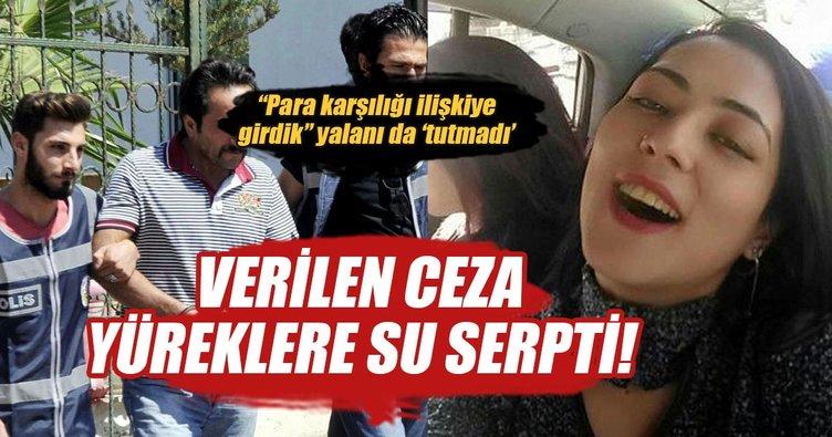 Gülizar'a tecavüz edip, boğazını keserek öldüren katile müebbet...
