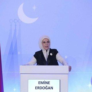 Emine Erdoğan iftarda gazilerle bir araya geldi