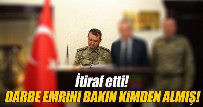 Darbe emrini Tuğgeneral Mehmet Partigöç'ten almış!