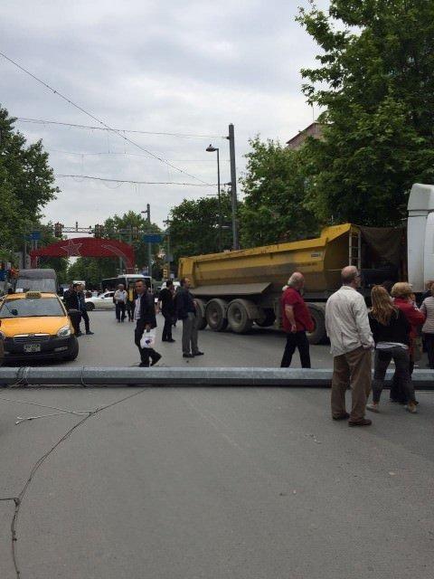 Bağdat Caddesi'nde trafik kazası
