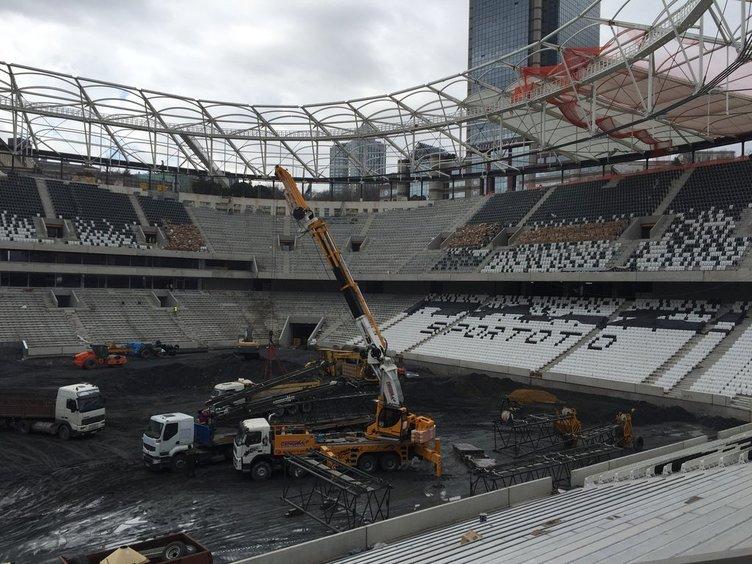 Beşiktaş'ın yeni stadında 2. kovulma vakası!