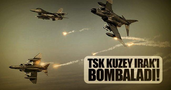 TSK'dan Irak'ın kuzeyine hava harekatı: 4 PKK'lı etkisiz hale getirildi
