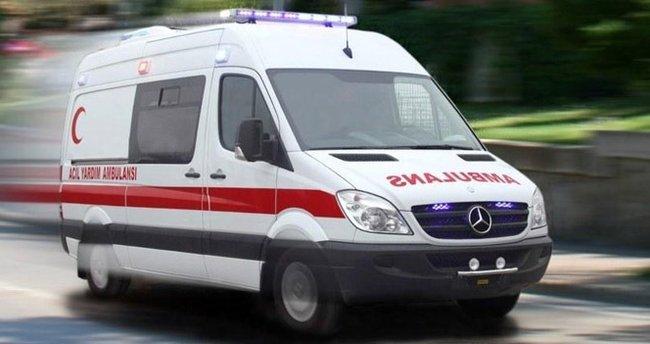 Elazığ'da uçuruma yuvarlanan kadın kurtarıldı