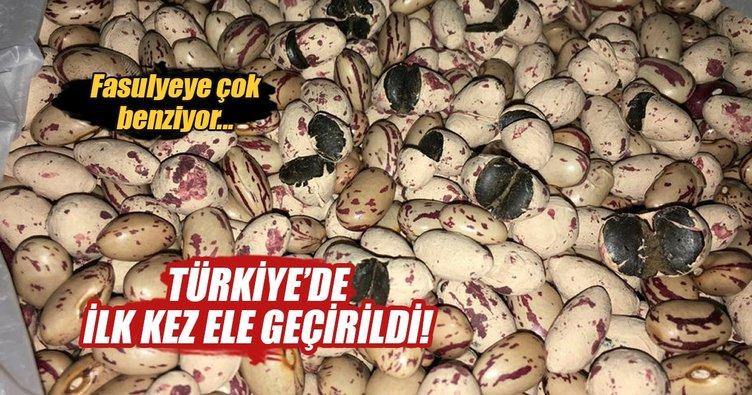 Bu uyuşturucu Türkiye'de ilk defa ele geçirildi