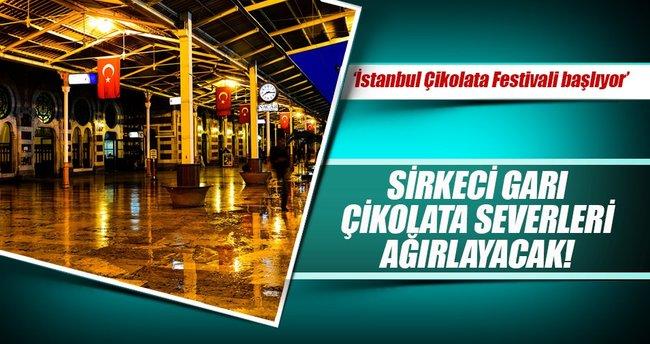Uluslararası İstanbul Çikolata Festivali Sirkeci Garı'nda yapılacak!