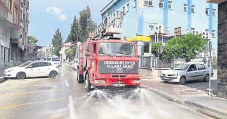 Kırıkhan'da temizlik seferberliği başlatıldı