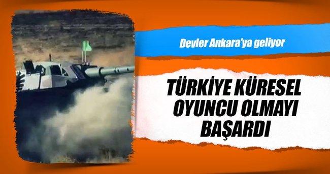 Savunmanın devleri Ankara'ya koşuyor