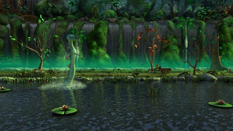 Cesur Tom ve Sihirli Ayna filminden kareler