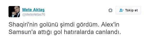 Turnuvanın en güzel golünü atan Shaqiri, sosyal medyayı salladı