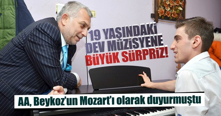 Mozart ile aynı kulağa sahip Yunus'a sürpriz!