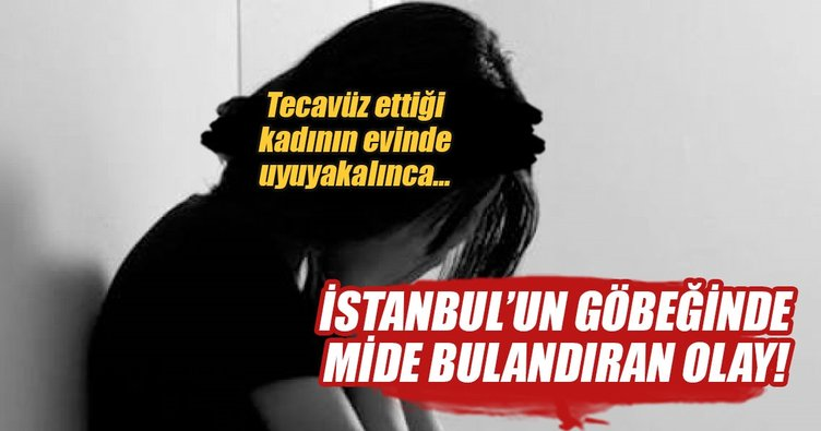 İstanbul'un göbeğinde tecavüz dehşeti!