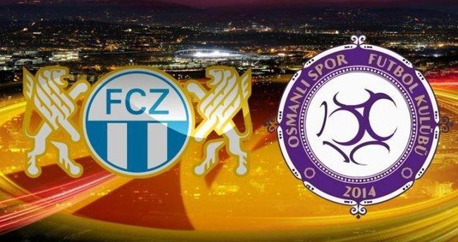 Zürih - Osmanlıspor maçını canlı izle (Hangi kanalda)