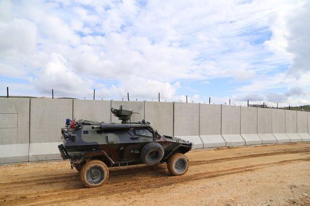 Sınırda güvenlik önlemleri