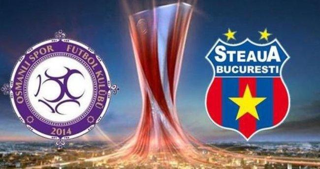 Osmanlıspor 2-0 Steaua Bükreş