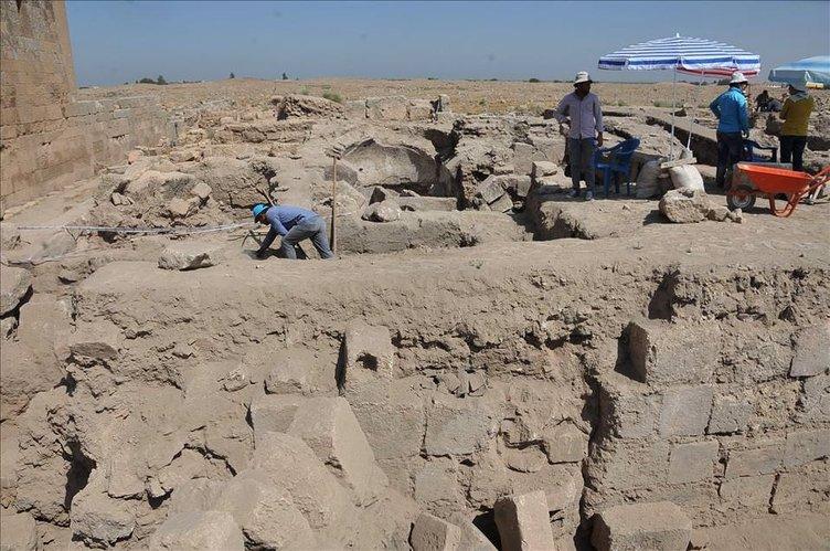 Harran'da tarih gün yüzüne çıkıyor