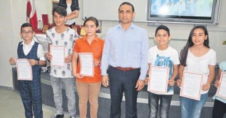 BİLSEM Festivali'nde Tarsus birinci oldu