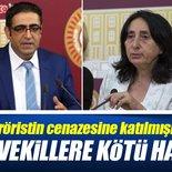 PKK'lı teröristin cenazesine katılan HDP'lilere kötü haber!