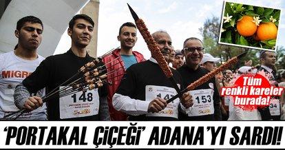 'Portakal Çiçeği' Adana'yı sardı!
