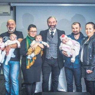 Süper bebekler yetim kaldı
