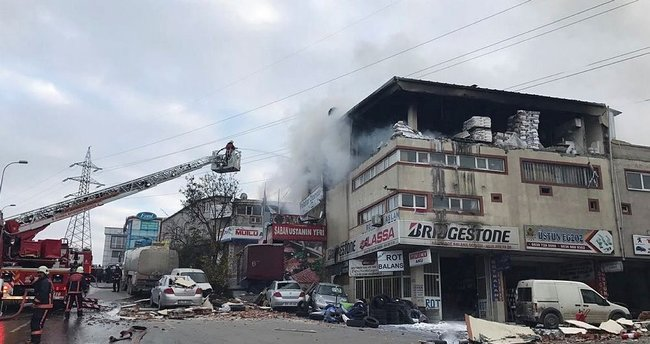 İstanbul Sultanbeyli'de patlama!