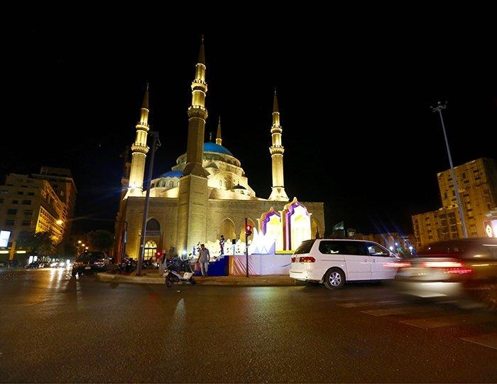 Ramazan'da Beyrut ışıl ışıl