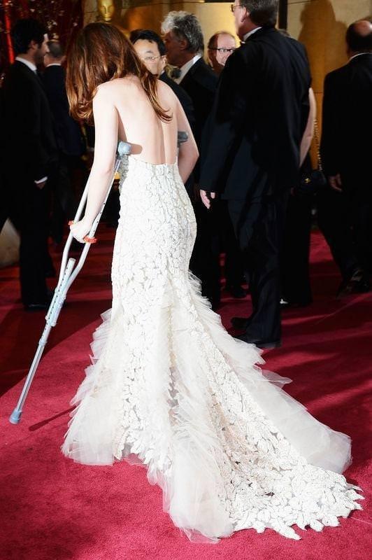 Oscar'ın sakat güzeli