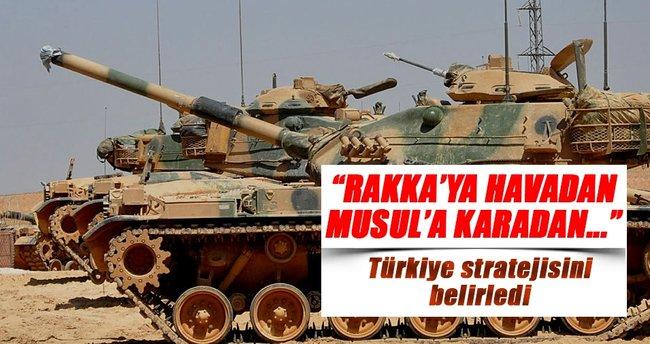 Rakka'ya havadan, Musul'a karadan destek verilecek