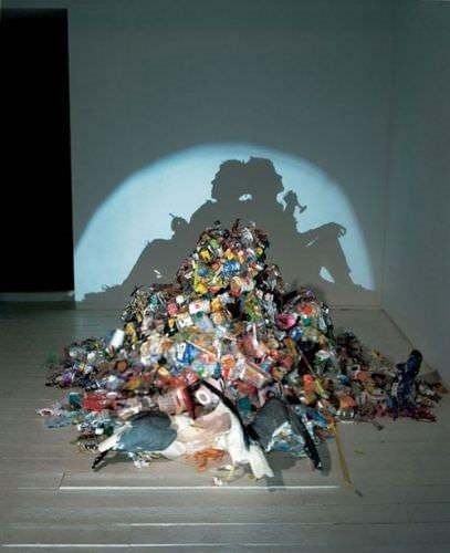 İngiltere'nin çöpü sanata dönüşüyor!