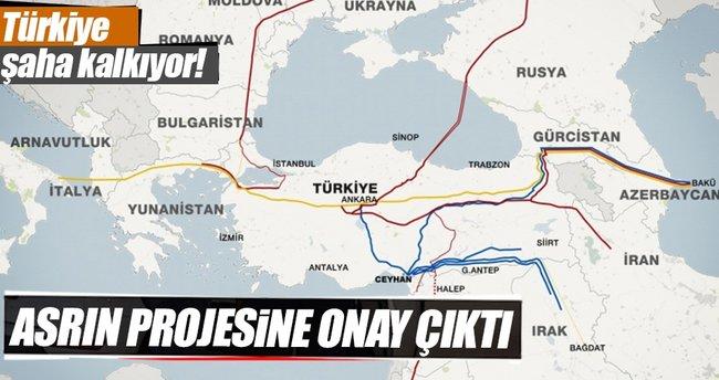 Gazprom, Türk Akım projesi için ilk onayı aldı